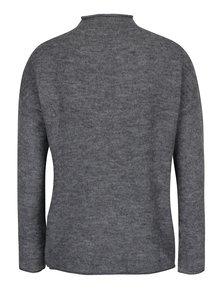 Tmavosivý melírovaný sveter Jacqueline de Yong Alice
