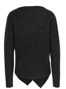 Tmavosivý sveter s prímesou mohéru VILA Cant