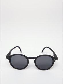Černé dětské kulaté sluneční brýle s tmavými skly IZIPIZI  #D