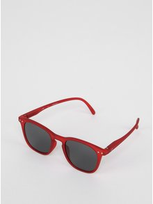 Červené detské slnečné okuliare s tmavými sklami IZIPIZI  #E