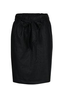 Černá pouzdrová sukně se zavazováním VILA Anja