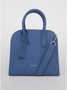 Modrá kožená kabelka Emblemm