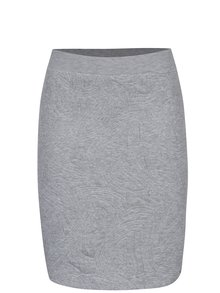 Sivá puzdrová sukňa s 3D vzorom Jacqueline de Yong Wilder