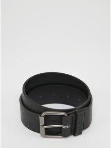 Černý pásek s jemným vzorem Blend