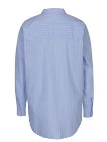 Modrá pruhovaná košeľa Jacqueline de Yong Stella