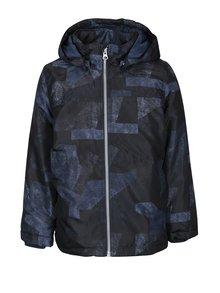 Modrá chlapčenská vzorovaná bunda name it Mellon