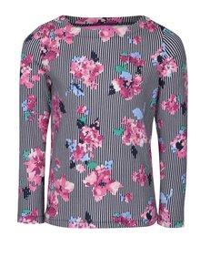 Modré dievčenské pruhované tričko Tom Joule Harbour