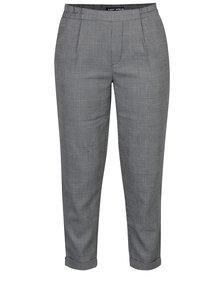 Pantaloni gri & negru cu talie elastică pentru femei - TALLY WEiJL