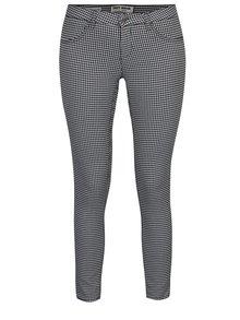 Bílo-černé kostkované push up skinny kalhoty TALLY WEiJL