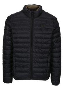 Černá prošívaná bunda s kapsami Blend