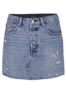Modrá džínová sukně s potrhaným efektem Levi's® American Wild