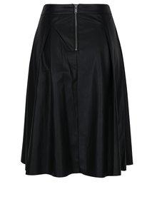 Černá koženková sukně ONLY Tinka Ella