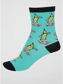 Zelené klučičí ponožky s banány Sock It to Me Peeling Out