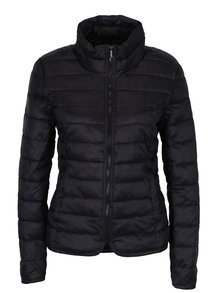 Jachetă neagră matlasată pentru femei - ONLY Tahoe