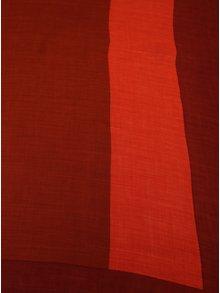 Cihlový vzorovaný šátek Calvin Klein Jeans Allover