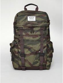 Zelený vzorovaný batoh Burton Annex 28 l