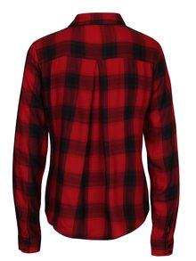 Černo-červená kostkovaná košile ONLY Sally Josefine