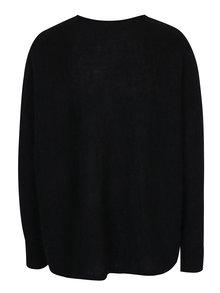 Čierny oversize sveter Calvin Klein Jeans Sari