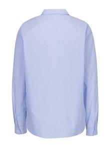 Bielo-modrá pruhovaná formálna košeľa ONLY Daza