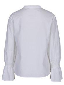 Biela košeľa so zvonovými rukávmi ONLY Fame