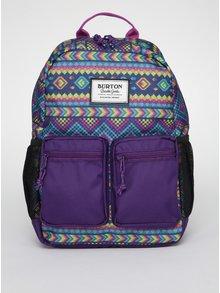 Fialový detský vzorovaný batoh Burton Gromlet 15 l