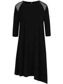 Černé asymetrické šaty Calvin Klein Jeans Danaka