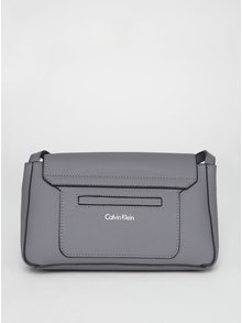 Šedá crossbody kabelka Calvin Klein Jeans Carrie