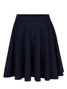 Tmavomodrá kolesová sukňa s vreckami ZOOT