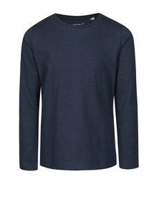 Tmavě modré klučičí tričko s dlouhým rukávem name it Villum