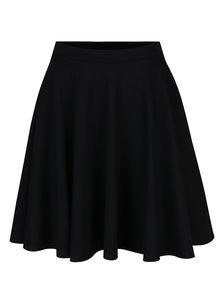 Čierna kolesová sukňa s vreckami ZOOT
