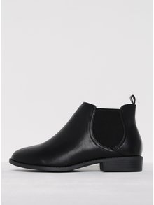 Čierne členkové topánky Dorothy Perkins