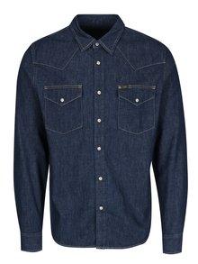 Tmavě modrá pánská džínová košile s kapsami Lee