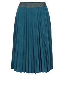 Tmavozelená plisovaná sukňa Rich & Royal