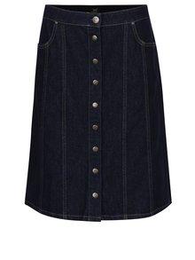 Tmavě modrá džínová sukně s kapsami Lee