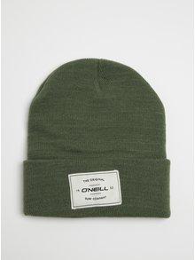 Zelená pánská čepice s nášivkou O'Neill