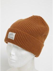 Hnedá pánska čapica s prímesou vlny O'Neill