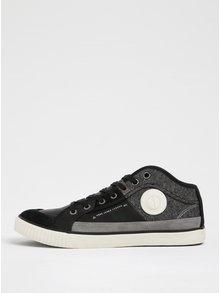 Černo-šedé pánské tenisky Pepe Jeans Industry