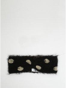 Černá čelenka s puntíky Blutsgeschwister