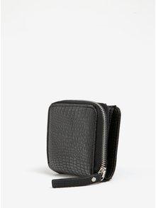 Černá peněženka s hadím vzorem Pieces Jenela