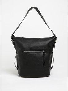 Černá velká kabelka Pieces Judith