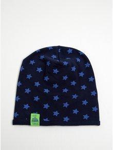 Tmavomodrá chlapčenská čiapka s motívom hviezd 5.10.15.
