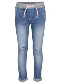 Modré holčičí kalhoty 5.10.15.