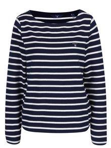 Bílo-modrý dámský pruhovaný svetr GANT