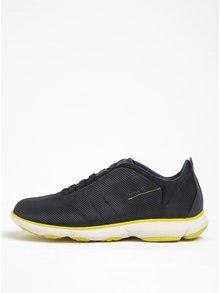 Pantofi sport albastru&galben din piele Geox Nebula F