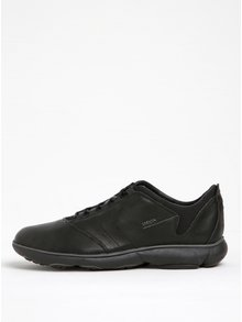 Pantofi sport negri din piele naturală Geox Nebula A