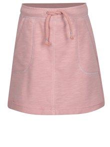 Růžová holčičí sukně s kapsami 5.10.15.