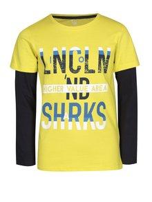 Žluté klučičí tričko s dlouhým rukávem 5.10.15.