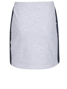 Sivá melírovaná dievčenská sukňa 5.10.15