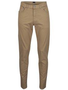 Béžové pánské slim fit kalhoty GANT Desert