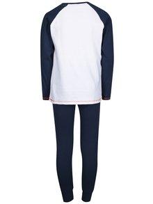Modro-bílé klučičí pyžamo s potiskem 5.10.15.